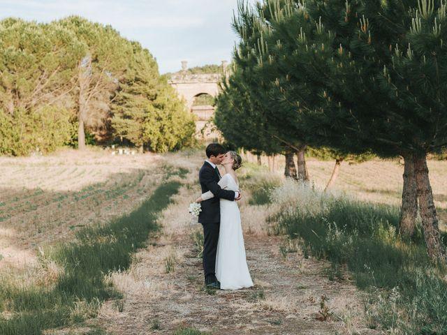 La boda de Luis y Macarena en Siguenza, Guadalajara 109