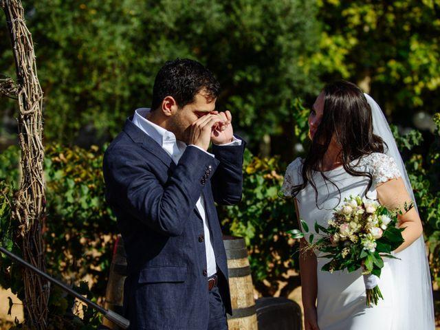 La boda de Agnes y Gal