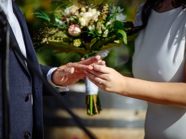 La boda de Gal y Agnes en Sant Cugat Sesgarrigues, Barcelona 43