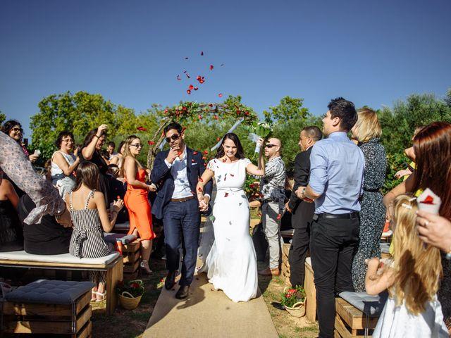 La boda de Gal y Agnes en Sant Cugat Sesgarrigues, Barcelona 47