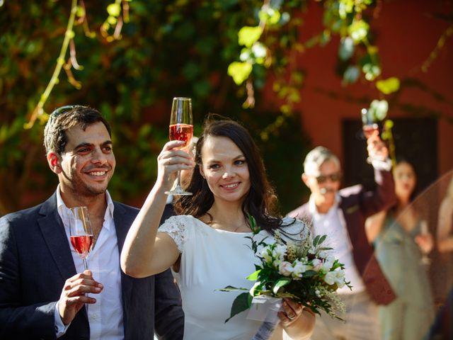 La boda de Gal y Agnes en Sant Cugat Sesgarrigues, Barcelona 52