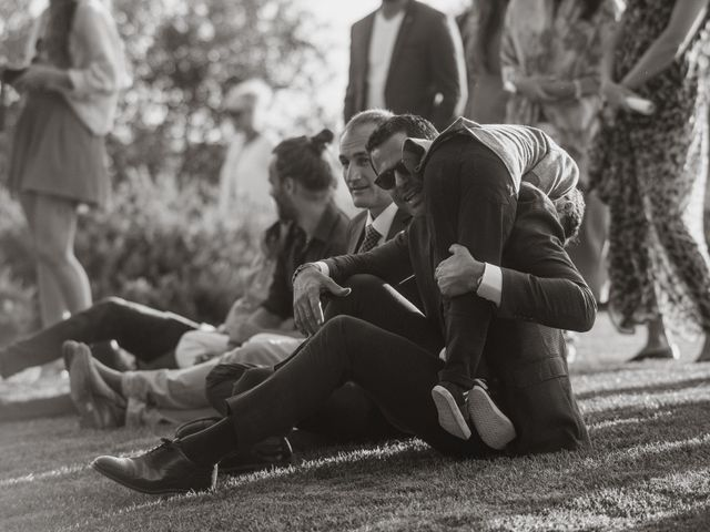 La boda de Gal y Agnes en Sant Cugat Sesgarrigues, Barcelona 63