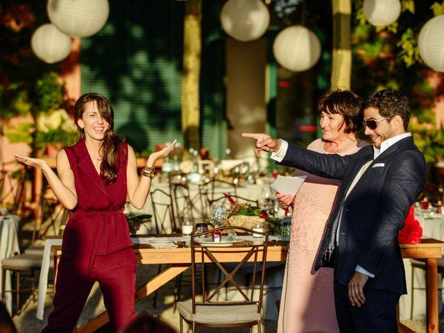 La boda de Gal y Agnes en Sant Cugat Sesgarrigues, Barcelona 64