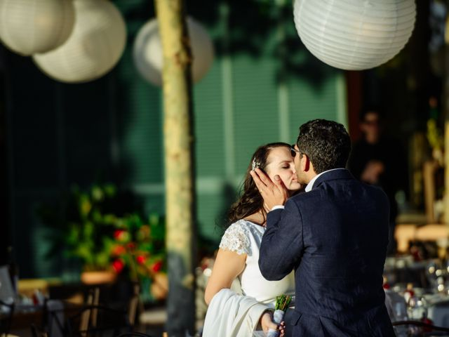 La boda de Gal y Agnes en Sant Cugat Sesgarrigues, Barcelona 66