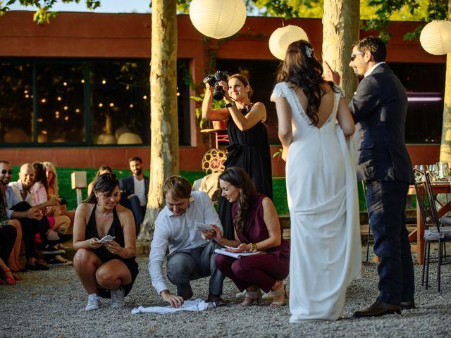 La boda de Gal y Agnes en Sant Cugat Sesgarrigues, Barcelona 67