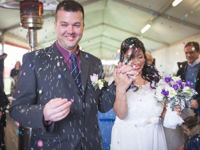 La boda de Angy y Luis
