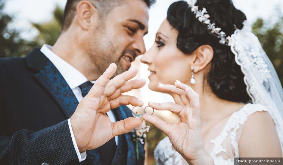 La boda de Fran y Lidia en La Curva, Almería