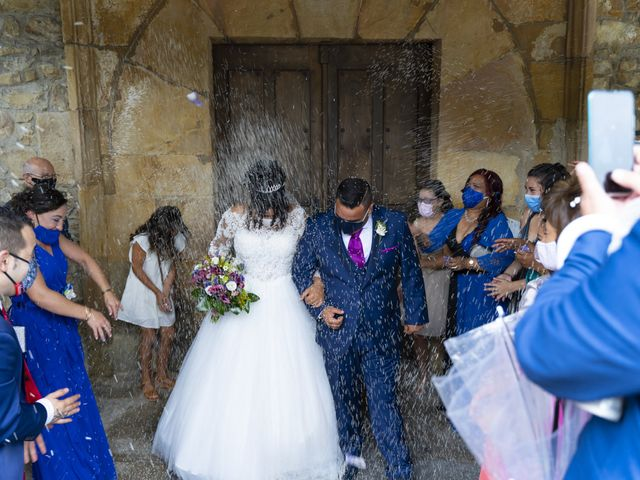 La boda de Estefania y Adrian en Riaño (Langreo), Asturias 23