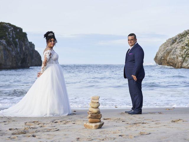 La boda de Estefania y Adrian en Riaño (Langreo), Asturias 40