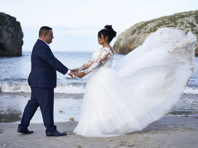 La boda de Estefania y Adrian en Riaño (Langreo), Asturias 2