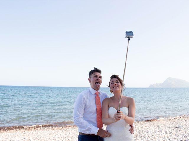 La boda de Liam y Joanne en Altea, Alicante 91