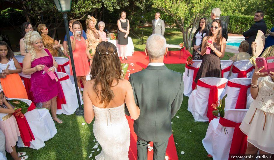 La boda de Pedro y Patri en Riudoms, Tarragona