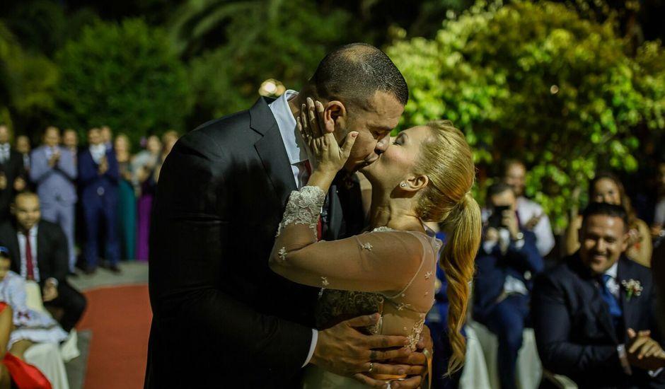 La boda de Moli y Yasmi  en Santa Brigida, Las Palmas