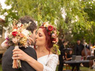 La boda de Rebeca y David y Rebeca y David