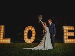 La boda de Melania y Quini