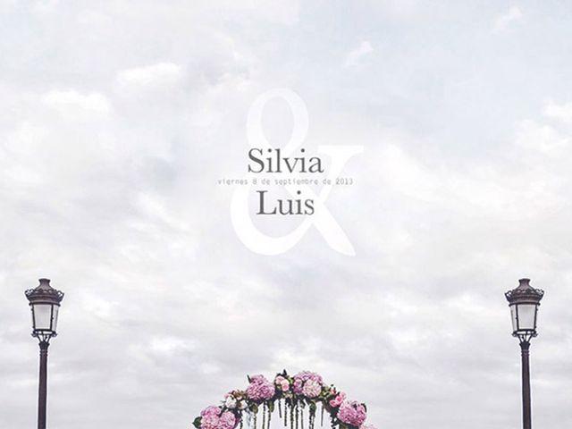 La boda de Luis y Silvia en Ribadeo (Casco Urbano), Lugo 1