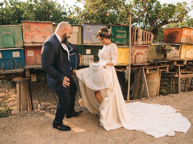 La boda de Fran y María en Mutxamel, Alicante 1