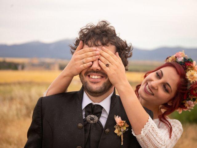 La boda de Rebeca y David y Rebeca y David en Segovia, Segovia 5