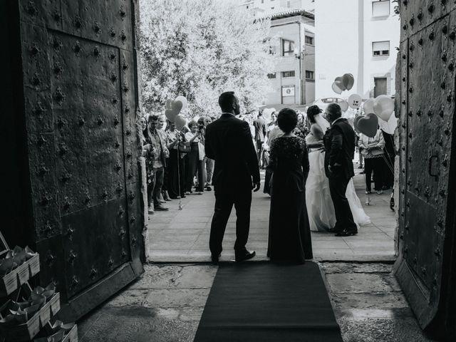 La boda de Paula y Raúl en Barbastro, Huesca 43