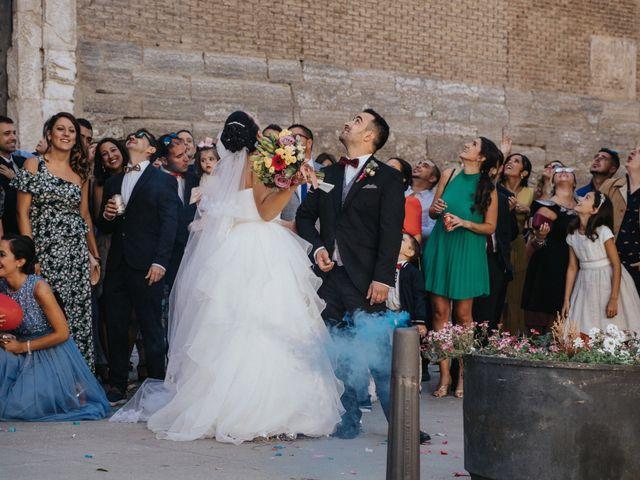 La boda de Paula y Raúl en Barbastro, Huesca 78