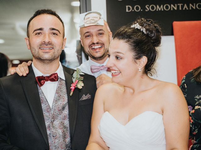 La boda de Paula y Raúl en Barbastro, Huesca 140