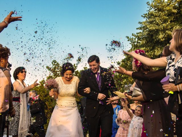 La boda de Fernando y Elena en Arroyomolinos De La Vera, Cáceres 22