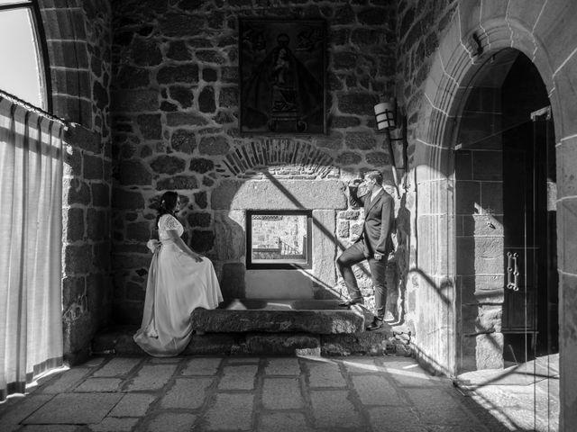 La boda de Fernando y Elena en Arroyomolinos De La Vera, Cáceres 39