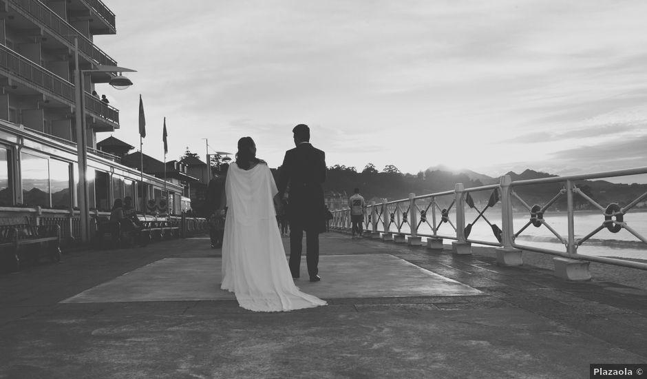 La boda de Óscar y Lola en Ribadesella, Asturias