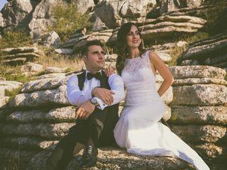 La boda de Alberto y Ángela