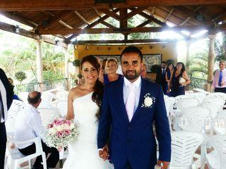 La boda de Rosa y Malkeet