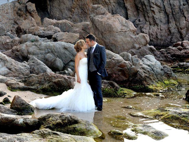 La boda de David  y Alicia en Lloret De Mar, Girona 1