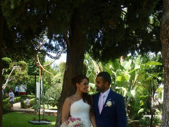 La boda de Malkeet y Rosa en Alhaurin De La Torre, Málaga 1
