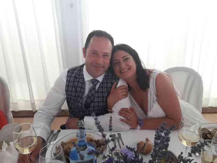 La boda de Antia y Santi