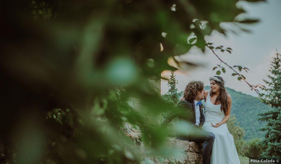 La boda de Narcís y Gabriela en Arbucies, Girona
