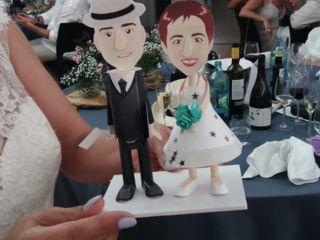 La boda de Maleni Crespo y Xavier Montserrat  2