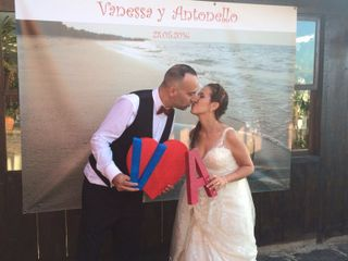 La boda de Vanessa y Antonello 1