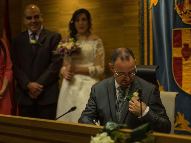 La boda de Javier y Claudia en Getafe, Madrid 1