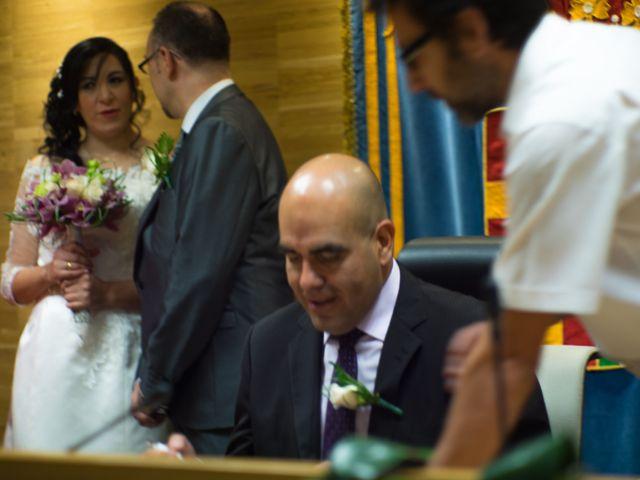 La boda de Javier y Claudia en Getafe, Madrid 25