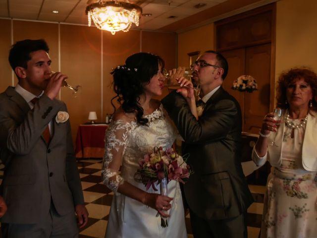 La boda de Javier y Claudia en Getafe, Madrid 104
