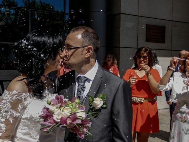 La boda de Javier y Claudia en Getafe, Madrid 105
