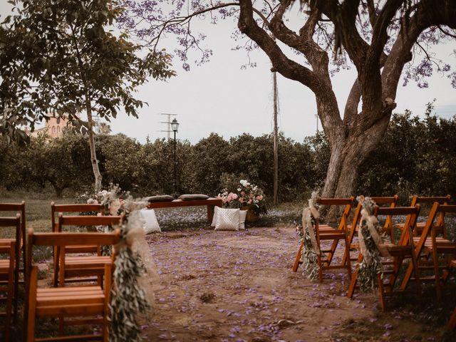 La boda de Ángela y Javi en Museros, Valencia 15