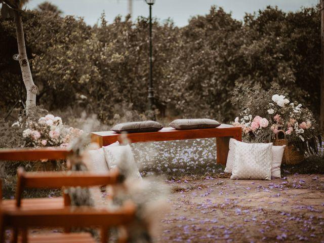 La boda de Ángela y Javi en Museros, Valencia 17