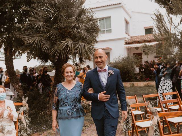 La boda de Ángela y Javi en Museros, Valencia 18