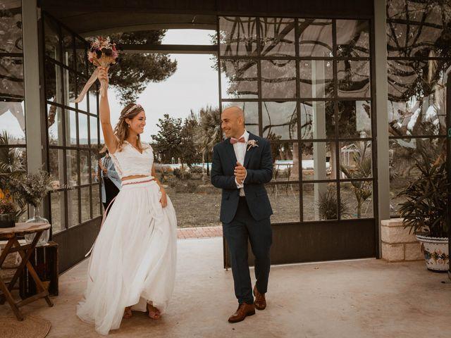 La boda de Ángela y Javi en Museros, Valencia 32