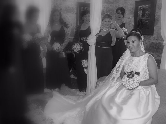 La boda de Isaac y María en Forcarei, Pontevedra 2