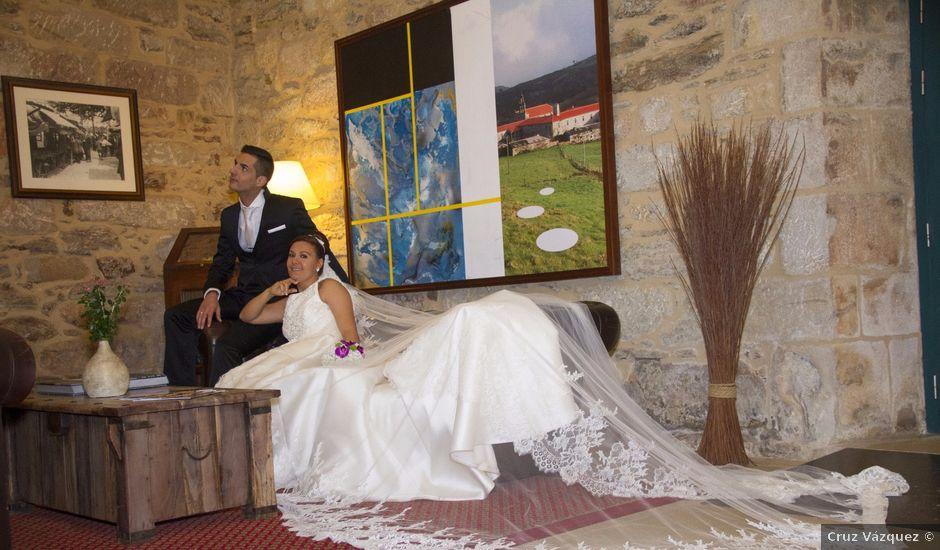 La boda de Isaac y María en Forcarei, Pontevedra