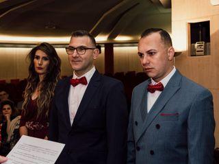 La boda de Flavio y Gianliuca 1