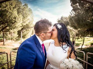 La boda de Kristina y David