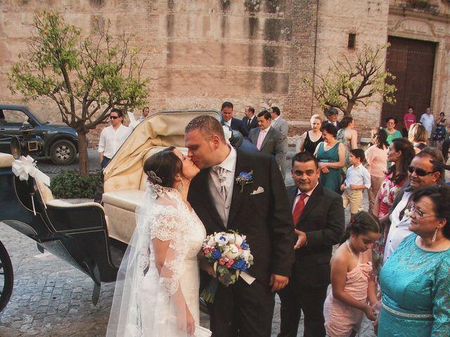 La boda de Juan  y Zoraida en Carmona, Sevilla 8