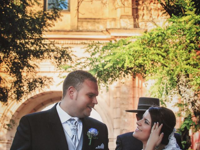 La boda de Juan  y Zoraida en Carmona, Sevilla 9
